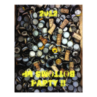 Bottoms Up Party Invitation