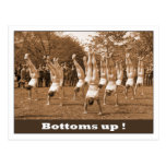 Bottoms Up Post Cards