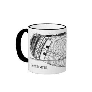 Bottoms Up! Ringer Mug