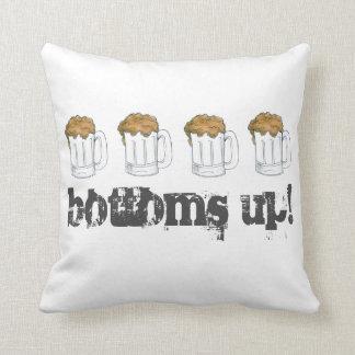 Bottoms Up! Saint Patrick's Day Beer Mug Pillow