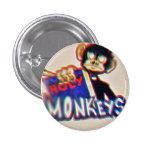 Botton Holy Monkeys Pin Redondo De 1 Pulgada