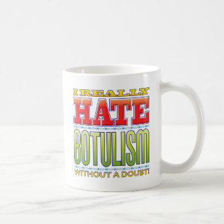 Botulism Hate Classic White Coffee Mug