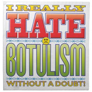 Botulism Hate Face Cloth Napkins