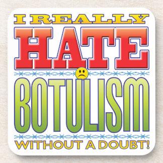 Botulism Hate Face Coaster