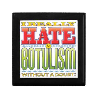 Botulism Hate Face Jewelry Box