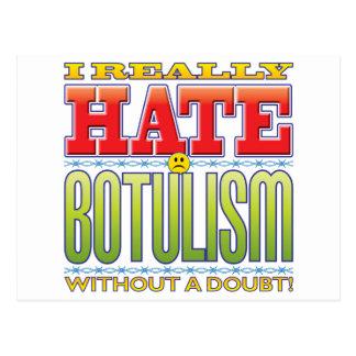Botulism Hate Face Postcard