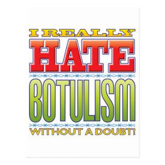 Botulism Hate Postcard