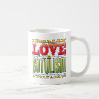 Botulism Love Face Classic White Coffee Mug