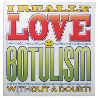 Botulism Love Face Cloth Napkin