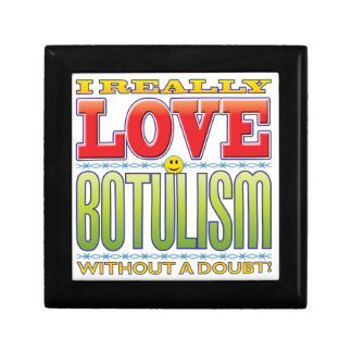 Botulism Love Face Jewelry Box
