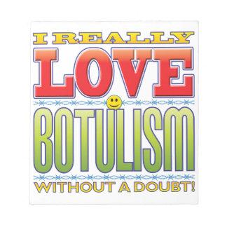Botulism Love Face Memo Note Pads