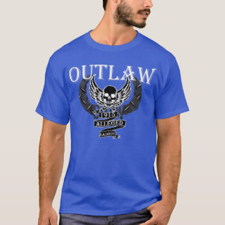 BOTW OUTLAW ALLEGED BADBOY BLACK WITH WHITE T-Shirt