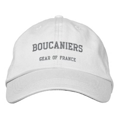 BOUCANIERS, Gear of France Embroidered Hat