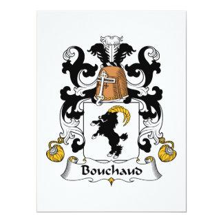 Bouchaud Family Crest Invite