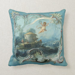 Boucher Baroque Throw Pillow