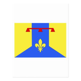 Bouches-du-Rhône flag Postcard