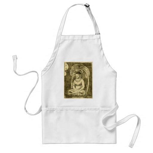 Bouddha (Buda) por Paul Gauguin Delantales