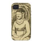Bouddha (Buda) por Paul Gauguin Case-Mate iPhone 4 Carcasas