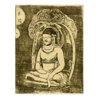 Bouddha (Buddha) by Paul Gauguin Postcard
