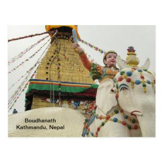 Boudha Stupa Postcard
