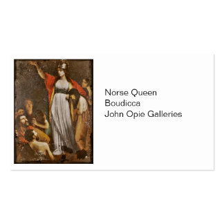 Boudicca Harangues the Britons Business Card