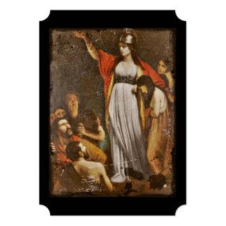 Boudicca Harangues the Britons Card