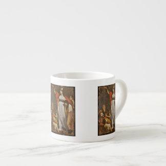 Boudicca Haranguing the Britons Espresso Cup