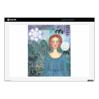 "Boudicca of the Iceni 001.jpg 17"" Laptop Decal"