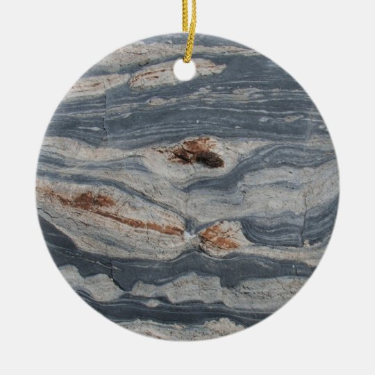 Boudinage Ceramic Ornament