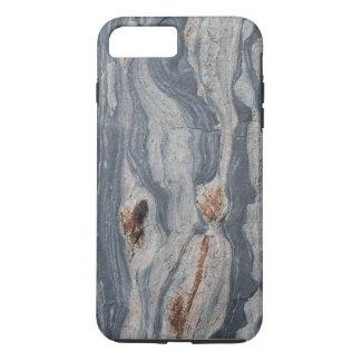 Boudinaged Limestone Rock Texture Print iPhone 7 Plus Case