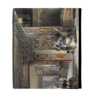 Boudoir and Bed-Chamber of a Lady of Rank, from 'C iPad Cases