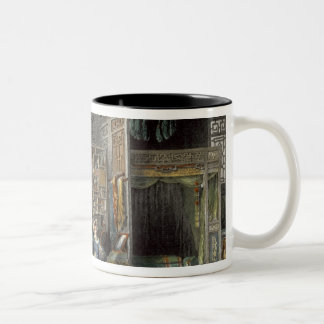 Boudoir and Bed-Chamber of a Lady of Rank, from 'C Two-Tone Coffee Mug