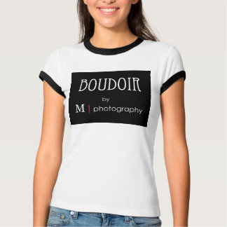 Boudoir by  M photography ringer  tee (women's)