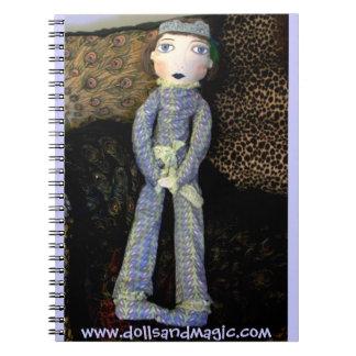 Boudoir Doll Notebook