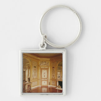 Boudoir of Marie-Antoinette  decorated in 1785 Keychain