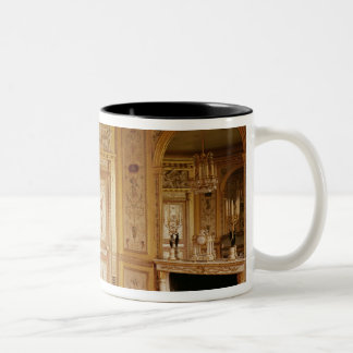 Boudoir of Marie-Antoinette  decorated in 1785 Two-Tone Coffee Mug