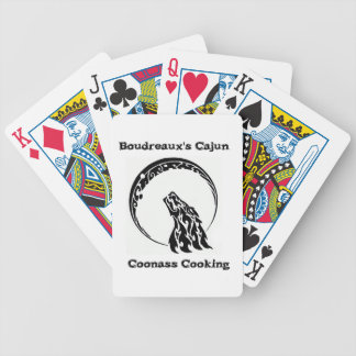 Boudreaux's Cajun  Coonass Cooking Playing Cards