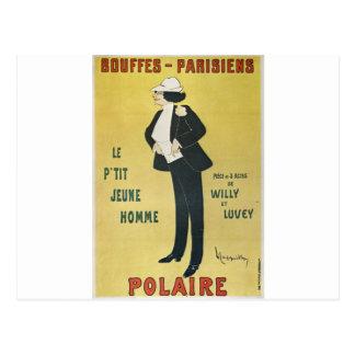 Bouffes-Parisiens Polaire Postcard