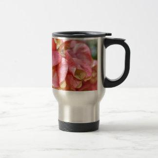 Bougainvilla Pink Gold Seed Pods Travel Mug