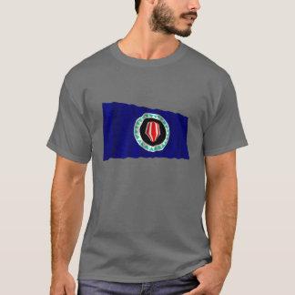 Bougainville Autonomous Region Waving Flag T-Shirt