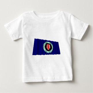 Bougainville Autonomous Region Waving Flag Tshirt