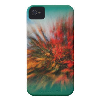 Bougainvillea Abstract Design by Admiro iPhone 4 Covers