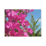 Bougainvillea and Palm Tree Doormat
