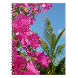 Bougainvillea and Palm Tree Notebook
