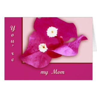 Bougainvillea Blossom Card