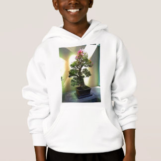 Bougainvillea Bonsai Tree Hoodie