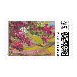 Bougainvillea/franqueo jamaicanos timbre postal
