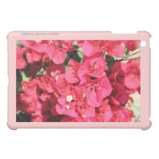 Bougainvillea  iPAD Customizable Hard Shell Case iPad Mini Cases