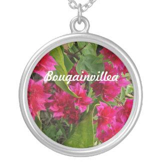 Bougainvillea Neckalce Colgante Redondo