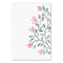 Bougainvillea Watercolor Tissue Paper